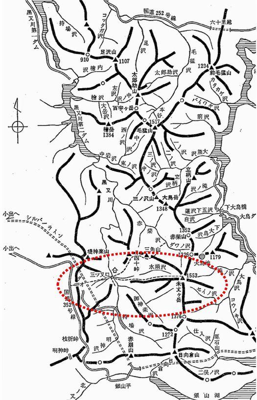 未丈ヶ岳概念図