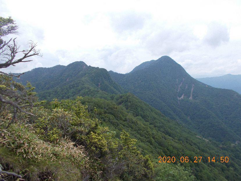 皇海山は遠い