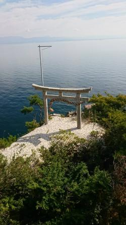 竹生島(鳥居)
