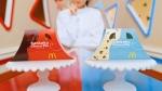 高田夏帆 マクドナルド 三角チョコパイ「三角チョコパイ 黒・クッキー&クリームたべくらべちゃう?」篇 0001
