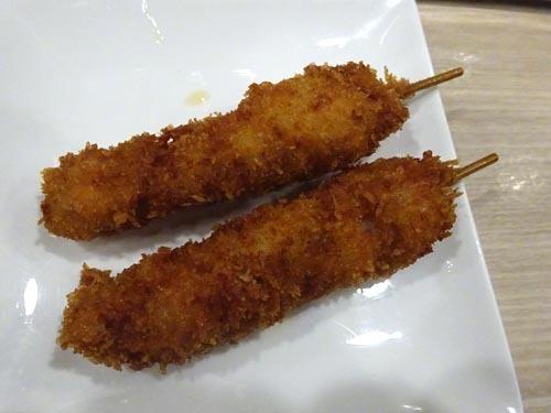 08鶏ハラミ串カツ