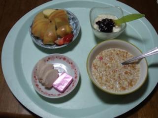 1/18 朝食