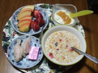 2/17 朝食