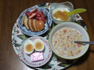 3/7 朝食