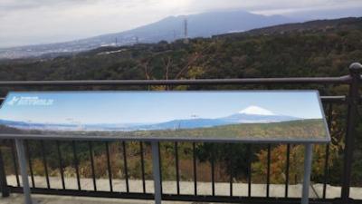 10/21 三島スカイウォーク 晴れているときの景色