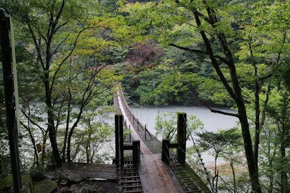 10/20 夢の吊り橋 橋の様子