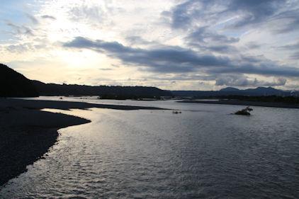 10/20 蓬莱橋から西側の大井川
