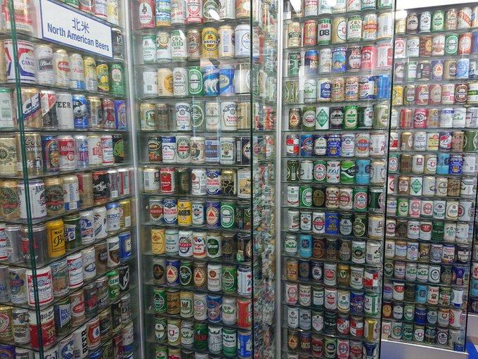 世界の缶ビールコレクション