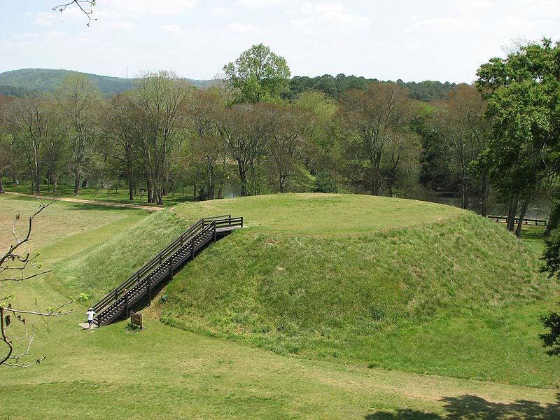 Etowah Indian Mounds,GA