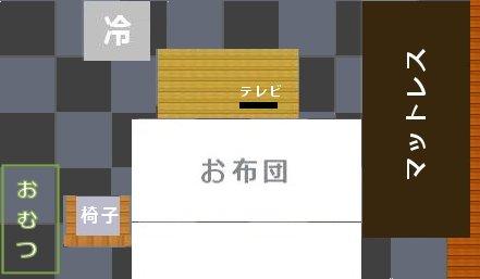 Nantonaku 間取 あのひと 6-28