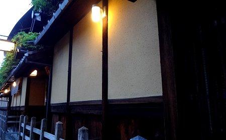 夕暮れの京都のどっかの茶屋2