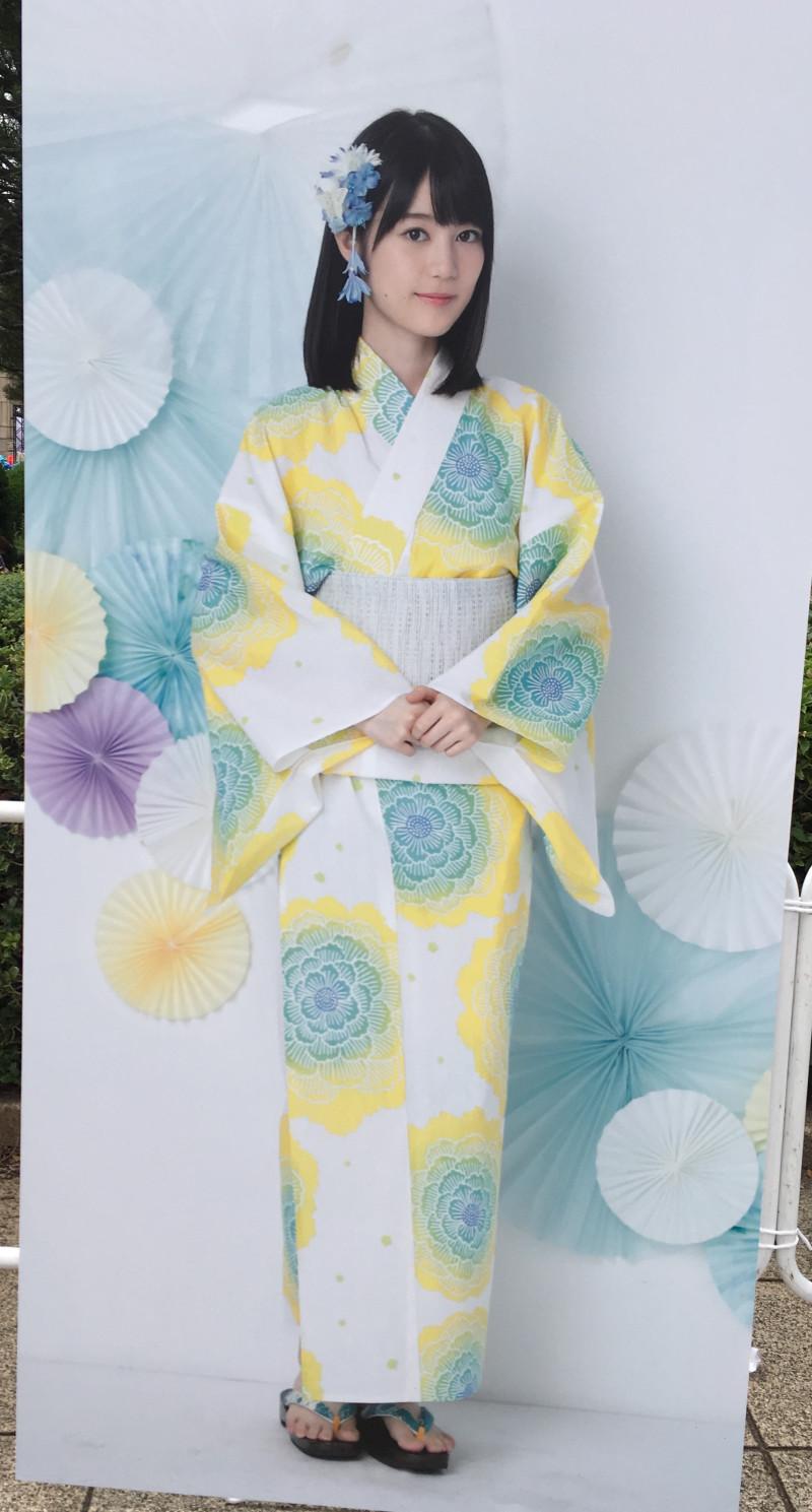 生田絵梨花 2020 浴衣 済み