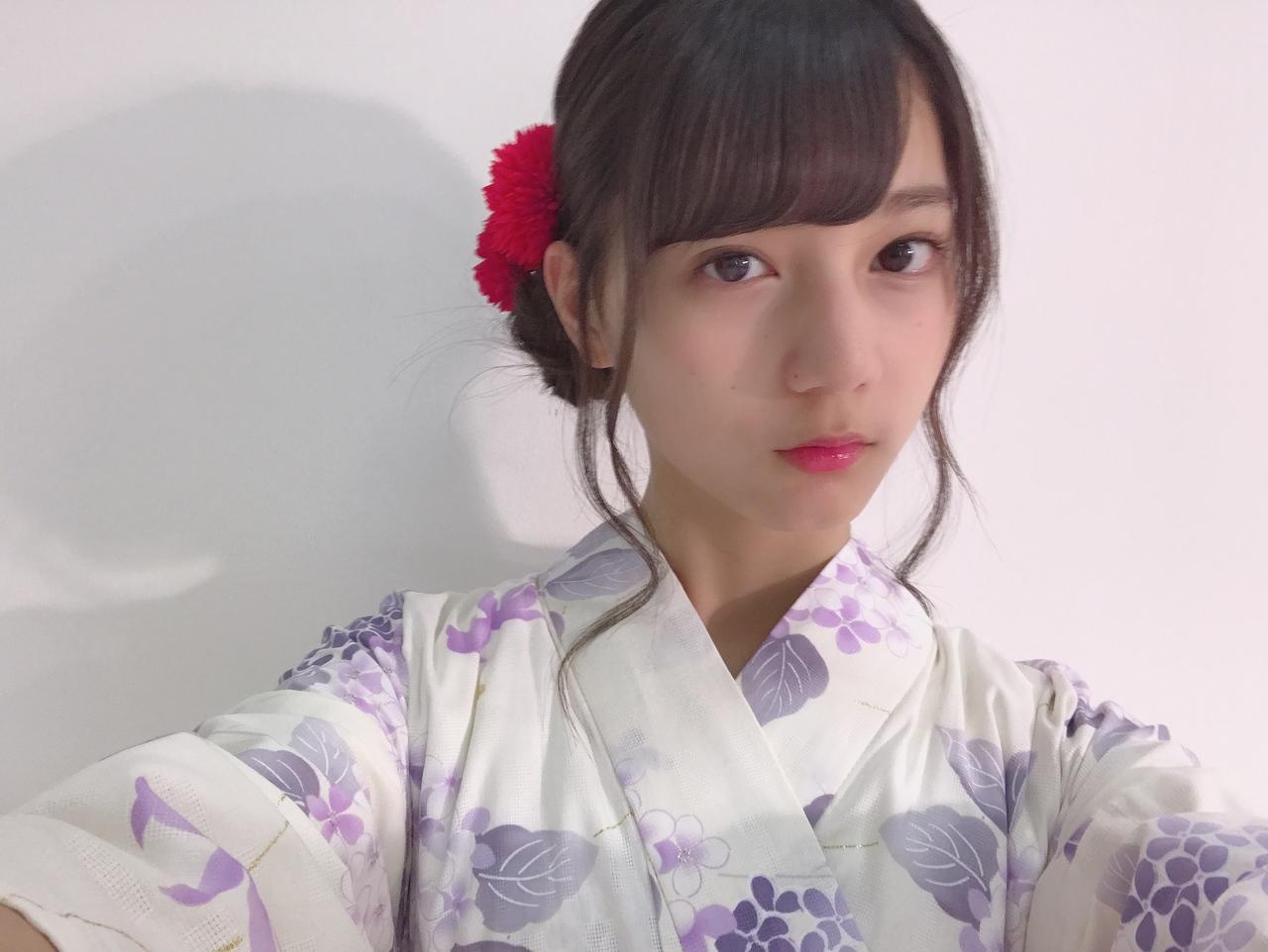 小坂菜緒 2020 浴衣 済み