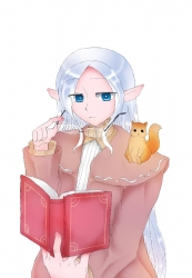 エルフの魔法使いさん