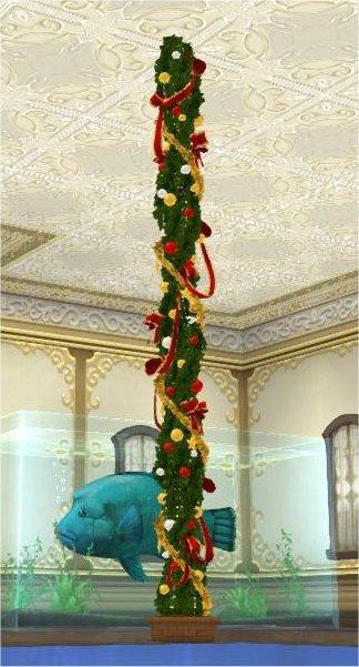 20191212クリスマスの柱
