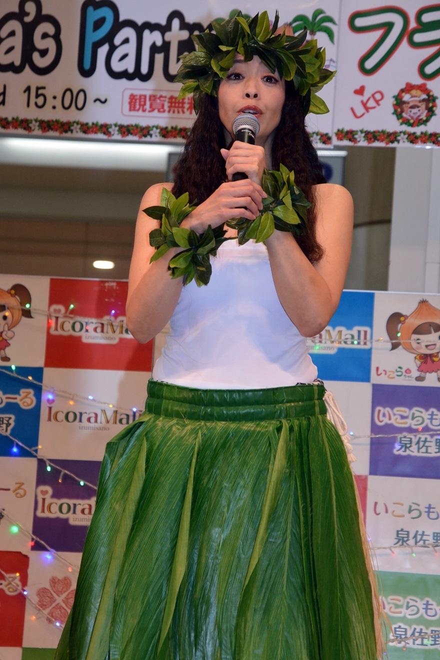 クリスマスフラ&タヒチアン19・ダイ (1)