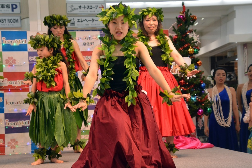クリスマスフラ&タヒチアン19・ダイ (4)