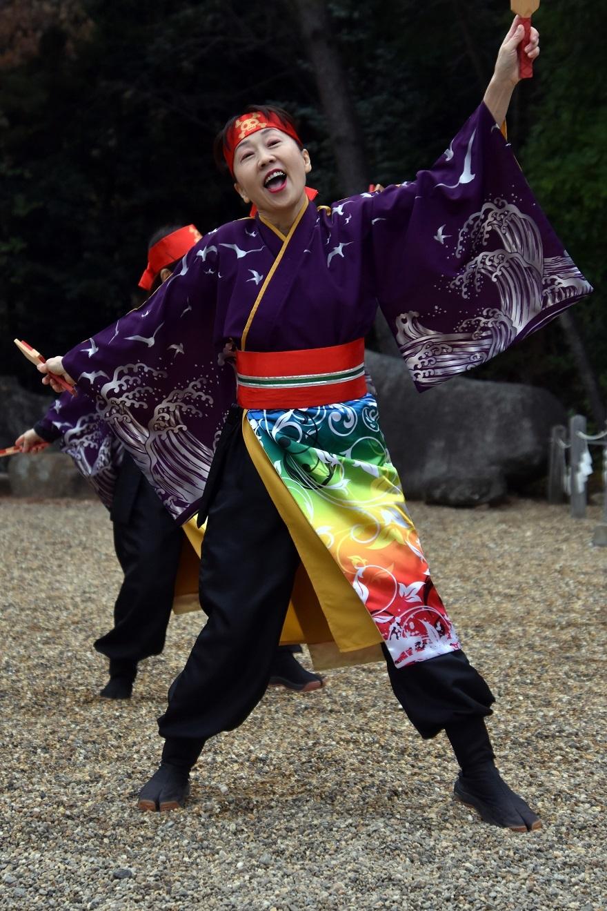 廣田神社よさこい2020・ダイ(16)