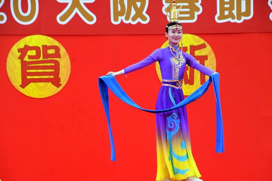 2020春節祭・モンゴル舞踊#2 (1)