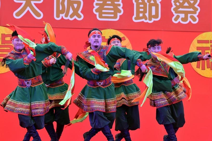 2020春節祭・モンゴル舞踊#3 (1)