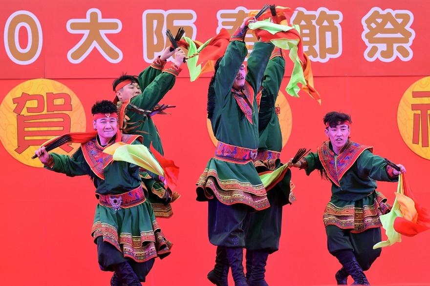 2020春節祭・モンゴル舞踊#3 (3)