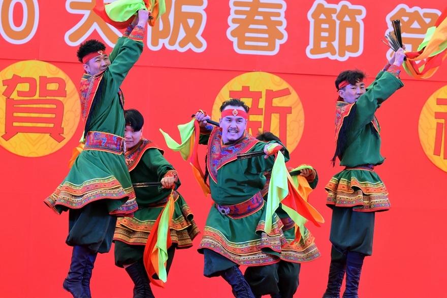 2020春節祭・モンゴル舞踊#3 (2)
