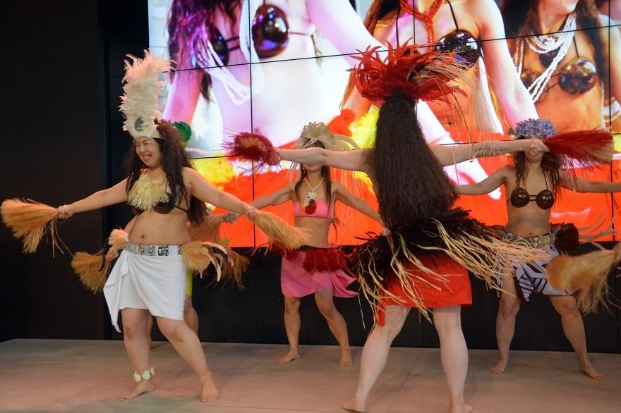 2月タヒチアンダンス#1 (4)