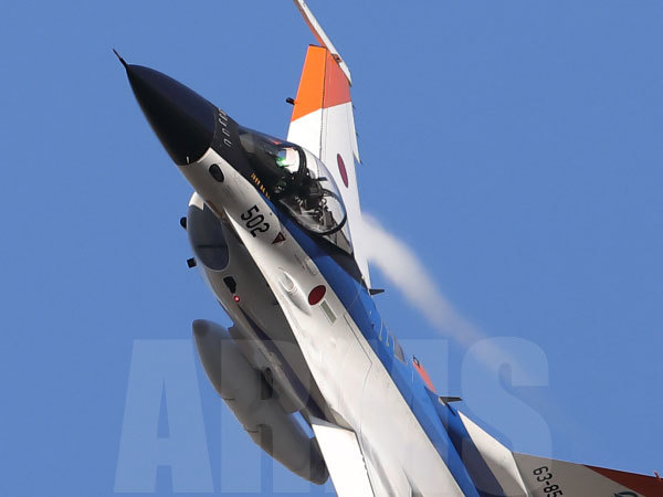 航空祭のF-2戦闘機