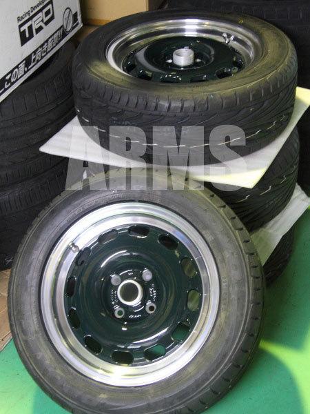 ホイールとタイヤのバランス調整