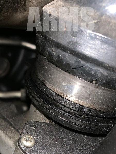 ハイエースの過給圧漏れ修理