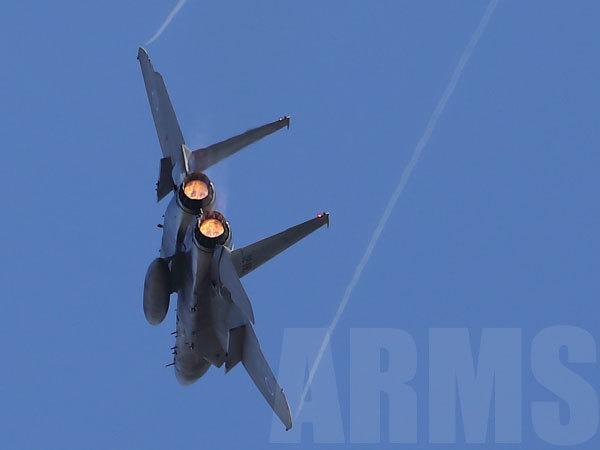 岐阜飛行開発実験団のF15