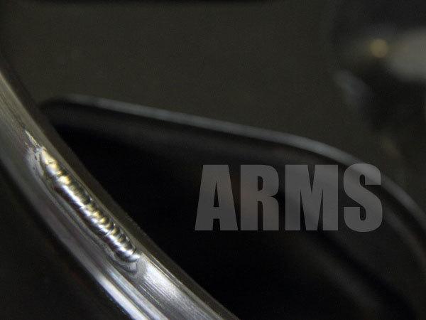アルミの欠けた部分を溶接で修理