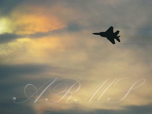 岐阜基地のF-15