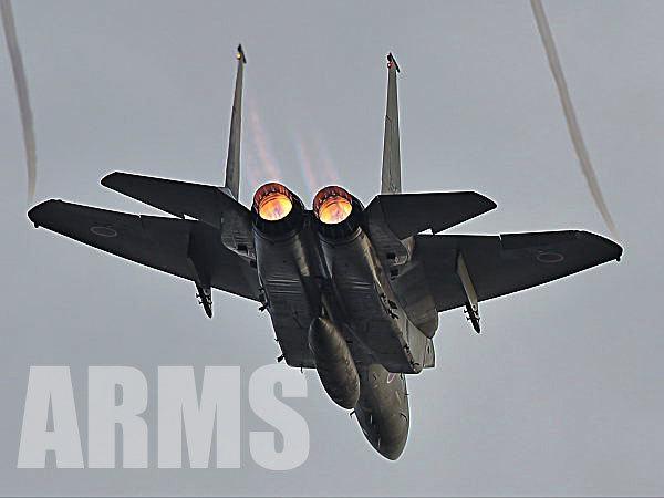 岐阜基地のF-15イーグル