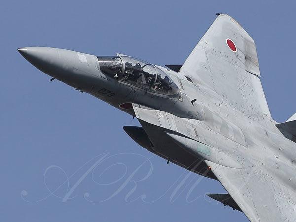 岐阜飛行開発実験団のF-15