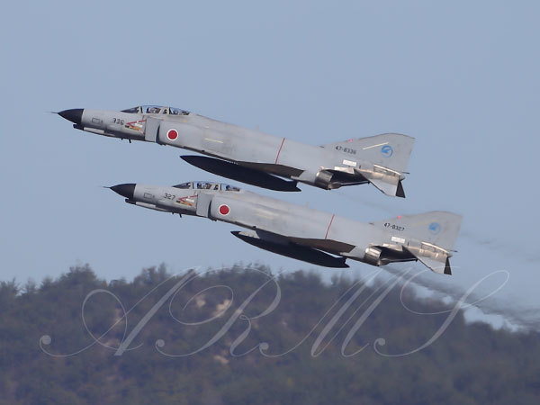 岐阜基地のF-4ファントム