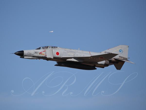 岐阜飛行開発実験団のF-4