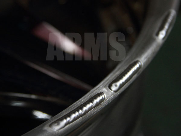 アルミ溶接修復