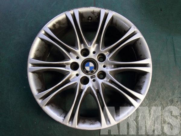 BMW M3 純正アルミホイール 曲がり修理