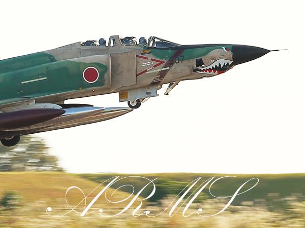 迷彩のF-4ファントム