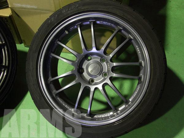 ホイールのタイヤ組み込みバランス