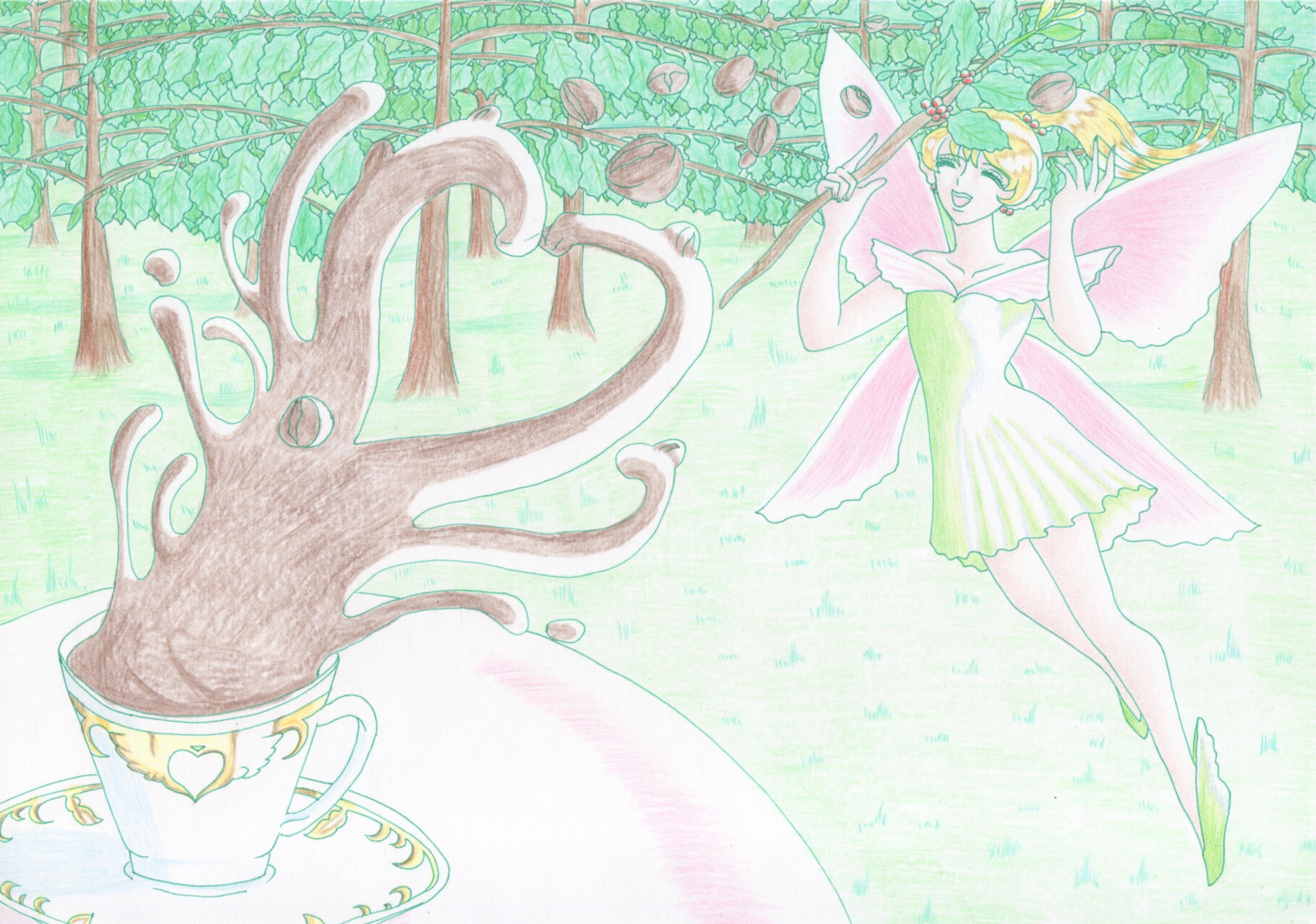 コーヒーの妖精