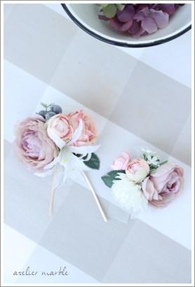 コサージュ 卒業 卒園 入学 入園 結婚式 お祝い