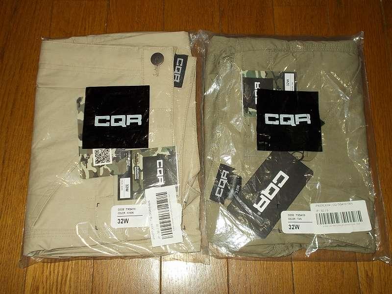 CQR 超軽量カーゴハーフパンツ TXS410 を購入しました