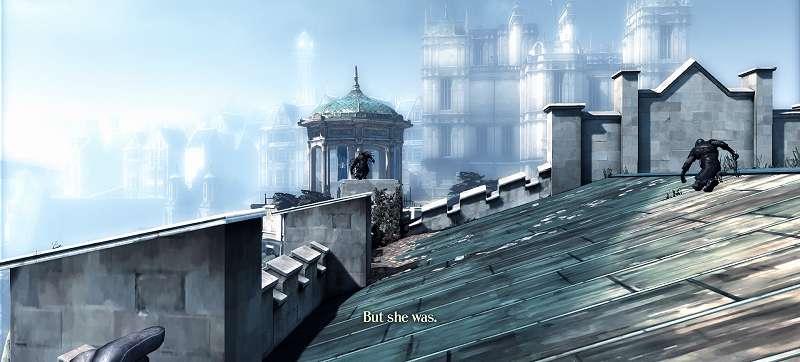 PC ゲーム Dishonored DLC - The Knife of Dunwall(ナイフ・オブ・ダンウォール)の字幕を日本語で表示する方法、Dishonored DLC - The Knife of Dunwall(ナイフ・オブ・ダンウォール) 英語字幕スクリーンショット