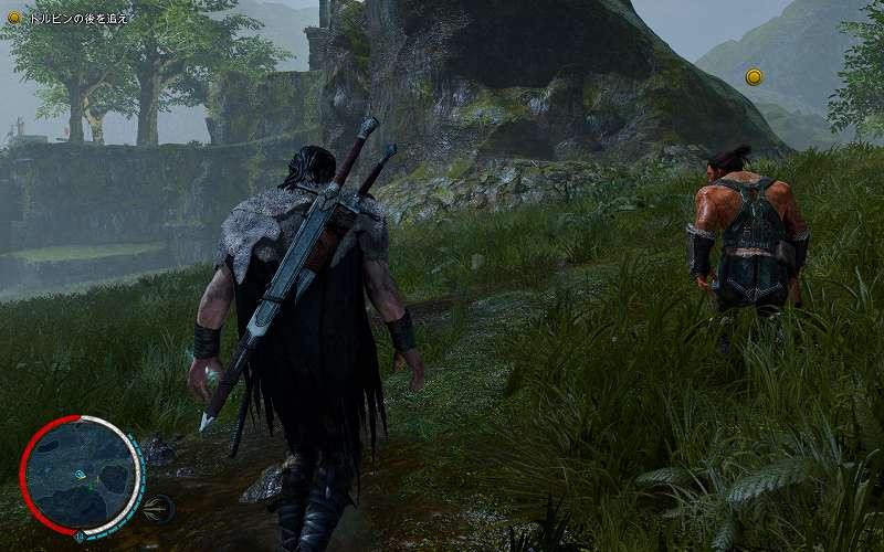 PC ゲーム Middle-earth: Shadow of Mordor GOTY 日本語化とフォント変更方法と DLC The Bright Lord(明王)で日本語を表示する方法、PC ゲーム Middle-earth: Shadow of Mordor GOTY ゲームプレイ最適化情報、FOV 変更方法、Flawless Widescreen - FWS Plugins - Middle Earth: SOM - FOV Fine adjustment Value: 0.00(デフォルト値)のスクリーンショット