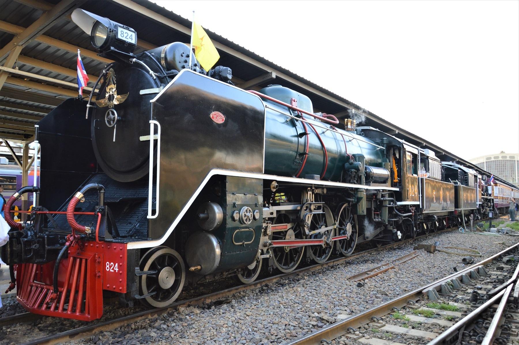 パシフィック型蒸気機関車