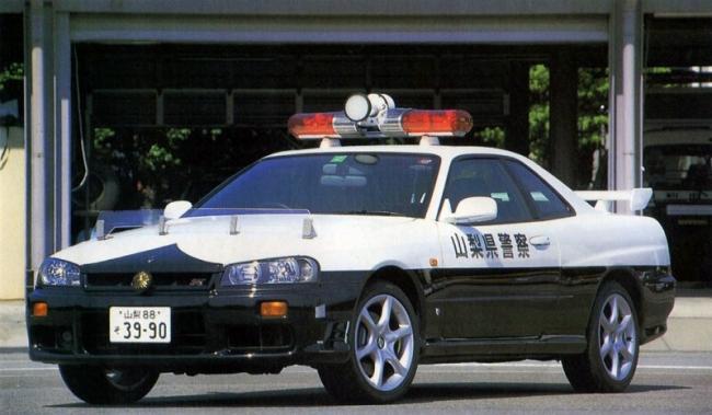 R34 25GT-T PC 山梨県警 平成