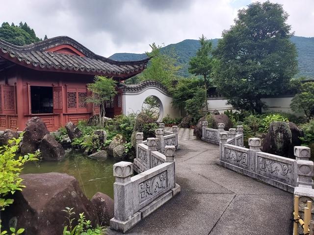 中国風庭園4