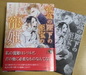 【BL小説】孤高の陛下の至宝の寵姫/貫井ひつじ・森原八鹿